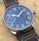 NEW Pilot/Aviator Watch - Seagull ST36 movement - Parnis dial w/Lume - US seller