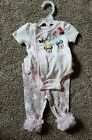 Disney Tutu Couture Minnie Mouse 2pc Bodysuit and Ruffle Leggings 0 3 Months