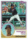 2018 Topps Francisco Mejia Silver Pack Chrome RC 47 Indians