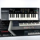 Vintage Casio SK-1 Sampling Keyboard Synthesizer Works Incl AC Adapter - Manual