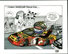 The ULTIMATE NASCAR Race Fan PERSONALIZED Cartoon Print created by R Pelkowski