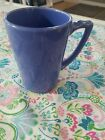 vintage riviera handled tumbler in mauve blue