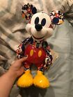 New Disney Store Bold  Bright Mickey Mouse Memories March Limited Edition Plush
