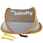 kilofly Flat Top Instant Pop Up Portable UPF 35+ Travel Baby Beach Tent 2 Pegs