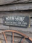 Moonshine because   Primitive Rustic Country Home Decor