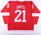 Adam Oates Signed Detroit Red Wings Jersey (JSA COA) Playing career 1985–2004