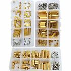 Brass Standoff Hex Spacer Screw Nut Bolt Motherboard Assortment Kit 360pcsM2 M3