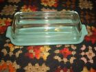 Vintage Jadite Fire King Butter Dish with Lid - One Stick Dish -  Pristine