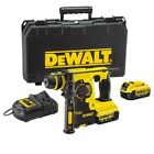 DeWalt 18V XR Lithium-Ion SDS Plus Rotary Hammer Drill inc 2 x 4Ah Batteries