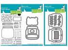 Lawn Fawn HOW YOU BEAN Clear Photopolymer Stamps Set + Dies + Shaker Add On