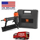 18-Gauge 2in 2-in-1 Pneumatic Brad Nailer&Stapler w/Carrying Case&Safety Glasses