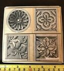 Hero Arts Stone Etchings rubber stamp set NEW