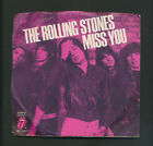 THE ROLLING STONES on RS 45 RPM w PIC SLEEVE Miss You VG+