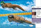 MICHAEL PHELPS Signed Autographed 8x10 Photo Rio Olympics USA Swimmer JSA COA