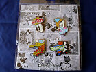 Disneys  MICKEY  FRIENDS QUOTES  COMICS  NEW 4 pin BOOSTER Set