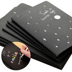 Black Paper Sketch Book Diary for Drawing Painting Graffiti with Soft