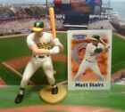 2000  MATT STAIRS - Starting Lineup - SLU - Figure & Card - OAKLAND ATHLETICS