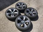 BMW 3 Series 18 OEM Wheels Powder Coated Gunmetal 323I 325I 328I 330I 335I 189