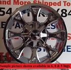 4 New 20 Wheels Rims for Acura SLX Hummer H3 Cadillac Escalade Kia Sedona 6838