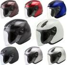 NEW GMAX OF 17 Open Face Motorcycle Scooter Street Helmet Adult Shield Moped