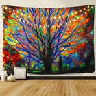 Art Colorful Tress Pattern Tapestry New Room Bedspread Wall Hanging Tapestries