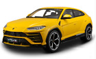 Bburago 118 Lamborghini Urus Metal Diecast Model Car Yellow New in Box