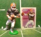 2000  TIM COUCH - Starting Lineup -SLU - Figure & Card -Cleveland Browns (Brown)
