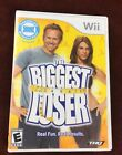 THE BIGGEST LOSER Nintendo Wii 2009 TESTED WITH MANUAL FREE SHIPPING