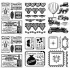 Silicone Scrapbooking Photo Decal Clear Rubber Stamp DIY Paper Crafts Stationery