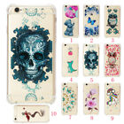 Shockproof Silicone Rubber Cute Pattern Full Cover Case Skin For iPhone 6 7 Plus