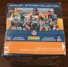 2016 PANINI NFL STICKERS BOX 50 PACKS WITH 8 STICKERS PER PACK BRAND NEW