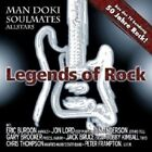 MAN DOKI SOULMATES ALLSTARS - LEGENDS OF ROCK  CD 15 TRACKS ROCK