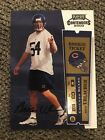 2000 Brian Urlacher Playoff Contenders Rookie Ticket RC On-Card Auto #103