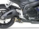 SUZUK 06 07 GSXR750 M2 Carbon Fiber Two Brothers Exhaust Slip On NEW