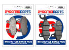 Kymco Jetix 50 2010 Full Set Front & Rear Brake Pads (2 Pairs)