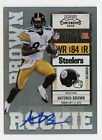 ANTONIO BROWN - 2010 PLAYOFF CONTENDERS ROOKIE TICKET RC AUTO CARD# 105