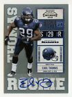 EARL THOMAS - 2010 PLAYOFF CONTENDERS ROOKIE TICKET RC AUTO CARD# 135
