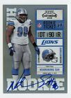 NDAMUKONG SUH - 2010 PLAYOFF CONTENDERS VAR ROOKIE TICKET RC AUTO CARD# 228