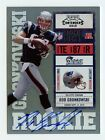 ROB GRONKOWSKI - 2010 PLAYOFF CONTENDERS ROOKIE TICKET RC AUTO CARD# 229