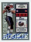 ROB GRONKOWSKI - 2010 PLAYOFF CONTENDERS VAR ROOKIE TICKET RC AUTO CARD# 229