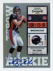 TIM TEBOW - 2010 PLAYOFF CONTENDERS ROOKIE TICKET RC AUTO CARD# 234