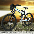ANcheer 25 Folding Electric Mountain Bike Bicycle Ebike  W Lithium Battery