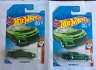 Hot Wheels 2018 Super Treasure Hunt 2017 Camaro ZL1 Lot with Rare Variant Card