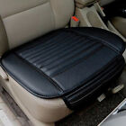 Black Bamboo Charcoal Car Seat Cushion Cover Pad Mat Protector Pocket Breathable