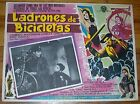 BICYCLE THIEVES Vittorio De Sica 1948 Complete Set of all 8 Lobby Cards