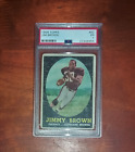 1958 Topps #62 Jim Brown Authentic Rookie PSA Well Centered Vintage Football