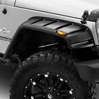For Jeep Wrangler 07 18 Fender Flares Elite Series RX Jeep Rivet Style Smooth