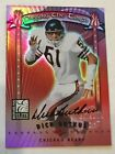2001 Donruss Elite Passing the Torch Dick Butkus Urlacher Auto 1 Of 1 - Bears