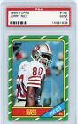 1986 Topps #161 Jerry Rice RC Rookie PSA 9 MINT SF 49ers Beautiful Card