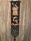 Boyds Bears & Friends T'was the Night Before Christmas Wall Hanging Door Decor